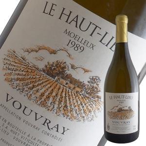 ヴーヴレ ル オーリュー モワルー 1989年 ユエ(白ワイン 甘口 ロワール)|winecellarescargot