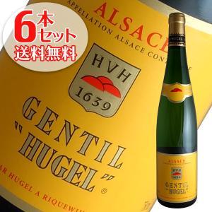 (送料無料)6本セット ジョンティ 2016年 ヒューゲル(白ワイン アルザス)|winecellarescargot