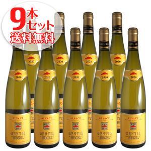 (送料無料)9本セット ジョンティ 2017年 ヒューゲル(白ワイン アルザス)|winecellarescargot