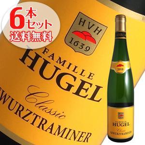 (送料無料)6本セット ゲヴュルツトラミネール クラシック 2017年 ヒューゲル(白ワイン アルザス)|winecellarescargot