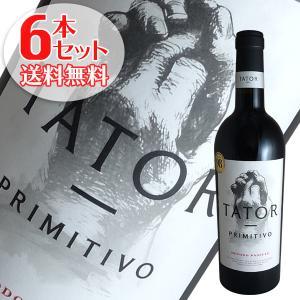 (送料無料)6本セット タトール プリミティーヴォ デル サレント 2019年 ポッジョ レ ヴォルピ(赤ワイン イタリア)|winecellarescargot