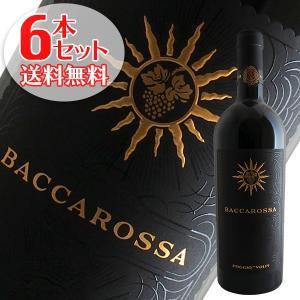 (送料無料)6本セット バッカロッサ 2016年 ポッジョ レ ヴォルピ(赤ワイン イタリア)|winecellarescargot