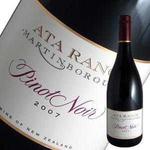 ピノ ノワール 2007年 アタ ランギ(赤ワイン ニュージーランド) winecellarescargot