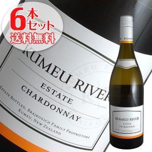 (送料無料)6本セット エステート シャルドネ 2017年 クメウ リヴァー(白ワイン ニュージーランド)|winecellarescargot