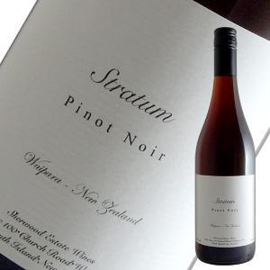 ストラタム ピノ ノワール 2019年 シャーウッド エステート(赤ワイン ニュージーランド) winecellarescargot
