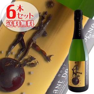 送料無料 6本セット クレマン ド ブルゴーニュ ブリュット N.V ルー デュモン 750ml 白 スパークリングワイン winecellarescargot