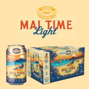 コナビール マイタイム ウィートエール瓶355mlx12本 ハワイアンビール|winecellarescargot