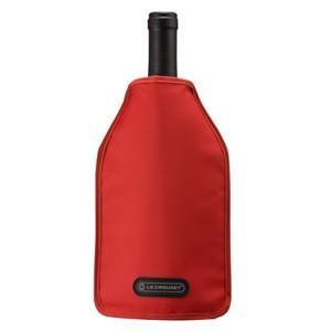 ル クルーゼ アイスクーラー スリーブ チェリーレッド (ワインクーラー)(お取り寄せ)|winecellarescargot