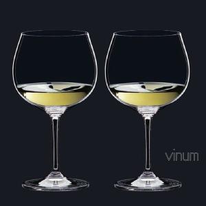 リーデル ヴィノム(6416/97)オークド シャルドネ(モンラッシェ)グラス2脚セット(お取り寄せ)|winecellarescargot