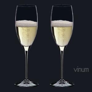 リーデル ヴィノム(6416/48)キュヴェ プレスティージュ(ヴィンテージ シャンパーニュ)グラス2脚セット(お取り寄せ)|winecellarescargot