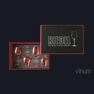 リーデル ヴィノム(5416/47)テイスティング セット グラス4脚セット(お取り寄せ)|winecellarescargot