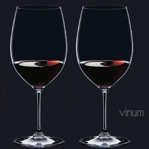 リーデル ヴィノム(6416/0)カベルネ ソーヴィニヨン/メルロー(ボルドー)グラス2脚セット(お取り寄せ)|winecellarescargot