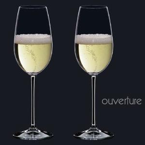 シャンパングラス リーデル オヴァチュア(6408/48)シャンパーニュグラス2脚セット(お取り寄せ)|winecellarescargot