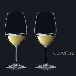 ワイングラス リーデル オヴァチュア(6408/5)ホワイトワイングラス2脚セット(お取り寄せ)|winecellarescargot