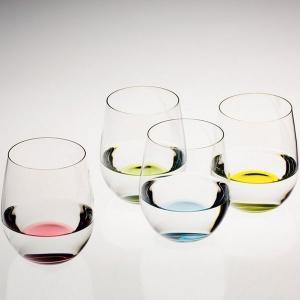 リーデル オー(5414/44)ハッピー オー(4色)グラス4脚セット(お取り寄せ)(正規品)|winecellarescargot