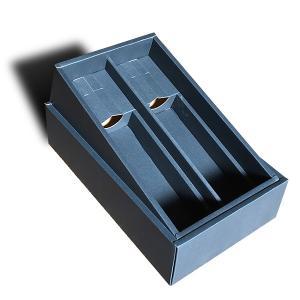 ワイン シャンパン用ギフトボックス(ワイン750mlボトル2本用)(化粧箱)|winecellarescargot