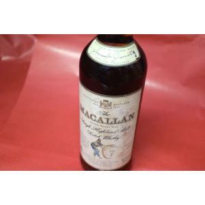 モルトウイスキー ザ・マッカラン / 7年 40% ジョヴィネッティ・リゼルヴァ・オールド・ボトル|wineholic