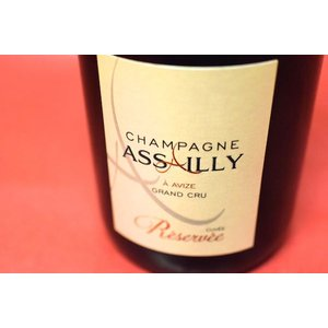 シャンパン スパークリングワイン アサイー・ルクレール・エ・フィス/ シャンパーニュ・キュヴェ・レゼルヴェ・ブリュット・ブラン・ド・ブラン|wineholic