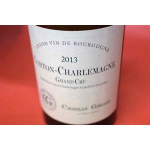 白ワイン メゾン・カミーユ・ジルー / コルトン・シャルルマーニュ グラン・クリュ [2013]|wineholic