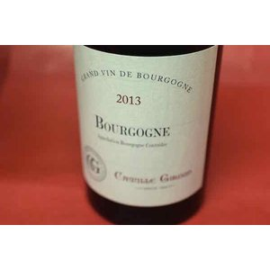 赤ワイン メゾン・カミーユ・ジルー / ブルゴーニュ・ルージュ [2013]|wineholic