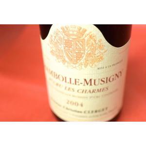 赤ワイン ドメーヌ・クリスチャン・クレルジェ / シャンボール・ミュジニー・プルミエ・クリュ・レ・ショーム [2004]|wineholic