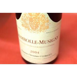 赤ワイン ドメーヌ・クリスチャン・クレルジェ / シャンボール・ミュジニー [2004]|wineholic
