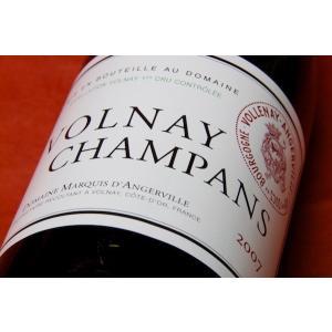 赤ワイン ドメーヌ・マルキ・ダンジェルヴィーユ / ヴォルネイ・シャンパン [2013] 1500ml予約販売(配送は2015/12/10以降)|wineholic