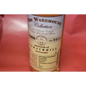 モルトウイスキー ザ・ウエアーハウス・コレクション / ストラスミル 1990/2014 24年 46% 700ml wineholic
