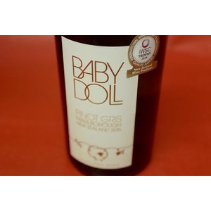 白ワイン イーランズ・エステート / ベビー・ドール・ピノ・グリ [2015] wineholic