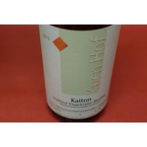 白ワイン クエンホフ・ピーター・プリガー / スッドゥチロル アイザックタレール リースリング カイトン [2012]|wineholic