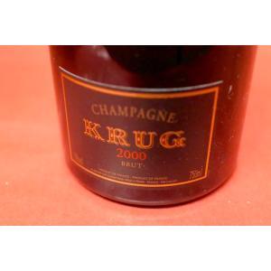 シャンパン スパークリングワイン クリュッグ / ブリュット [2000] wineholic