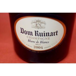 シャンパン スパークリングワイン ドン・リュイナール / ブラン・ド・ブラン・ブリュット [2004]|wineholic