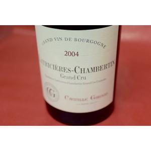 赤ワイン メゾン・カミーユ・ジルー / ラトリシエール・シャンベルタン・グラン・クリュ [2004]|wineholic