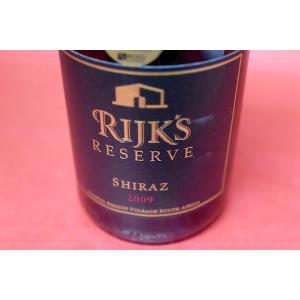赤ワイン ライクス / シラーズ・リザーヴ [2009] wineholic