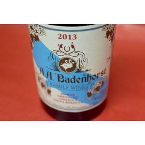 赤ワイン A.A.バーデンホースト / ファミリー・レッド [2013]|wineholic