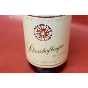 白ワイン ファン・フォルクセン / シャルツホーフベルガー リースリング [2013]|wineholic