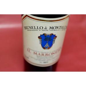 赤ワイン イル・マッロネート / ブルネッロ・ディ・モンタルチーノ イル・マロネート [2008]|wineholic