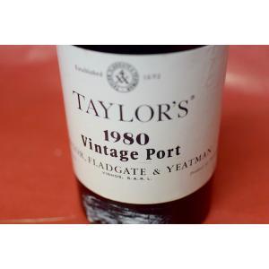 甘口ワイン デザートワイン テイラーズ / ヴィンテージ・ポート1980|wineholic