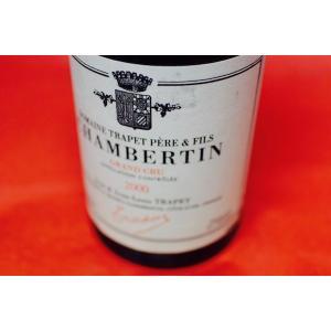 赤ワイン ジャン& ジャン・ルイ・トラペ / シャンベルタン・グラン・クリュ [2000]|wineholic