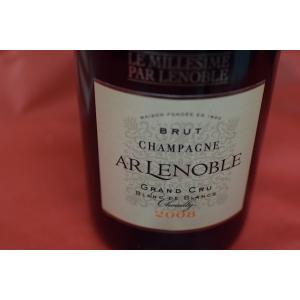 シャンパン スパークリングワイン ルノーブル / ブリュット・グラン・クリュ・ブラン・ド・ブラン [2008]|wineholic