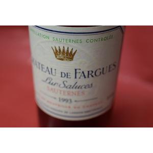 甘口ワイン デザートワイン シャトー・ド・ファルグ [1993]|wineholic