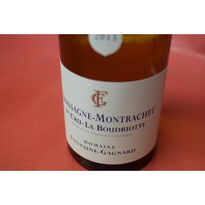白ワイン ドメーヌ・フォンテーヌ・ガニャール / シャサーニュ・モンラッシェ・プルミエ・クリュ・ラ・ブードリオット [2013]|wineholic