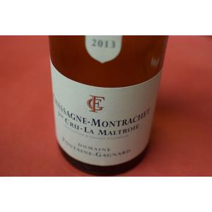白ワイン ドメーヌ・フォンテーヌ・ガニャール / シャサーニュ・モンラッシェ・プルミエ・クリュ・ラ・マルトロワ [2013]|wineholic