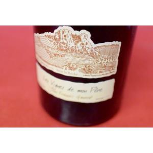 白ワイン ドメーヌ・ガヌヴァ / コート・テ?ュ・シ?ュラ・サウ?ァニャン・レ・ヴィーニュ・ド・モン・ペール [2002]|wineholic