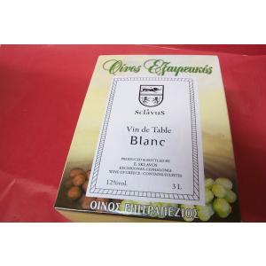 白ワイン ドメーヌ・スクラヴォス / ネオス・イーノス・レフコス [2016] 3L バッグ・イン・ボックス(予約販売:お届けは2016/11/17)|wineholic