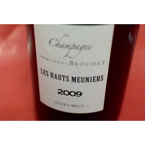 シャンパン スパークリングワイン エマニュエル・ブロシェ / エクストラ・ブリュット レ・オー・メニエ [2009] wineholic