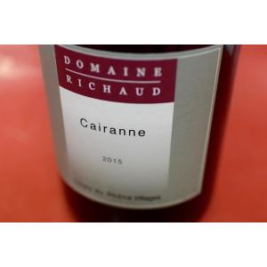 赤ワイン マルセル・リショー / コート・デュ・ローヌ・ヴィラージュ ケランヌ・ルージュ [2015]|wineholic