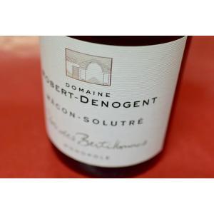 白ワイン ドメーヌ・ロベール・ドゥノジャン / マコン・ソリュートル クロ・デ・ベルティヨンヌ [2014]|wineholic