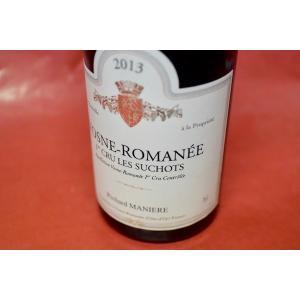 赤ワイン ドメーヌ・リシャール・マニエール / ヴォーヌ・ロマネ・プルミエ・クリュ・レ・スショ [2013]|wineholic