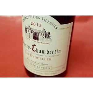 赤ワイン ドメーヌ・デ・ティユル / ジュヴレ・シャンベルタン・レ・エヴォセル [2013]|wineholic